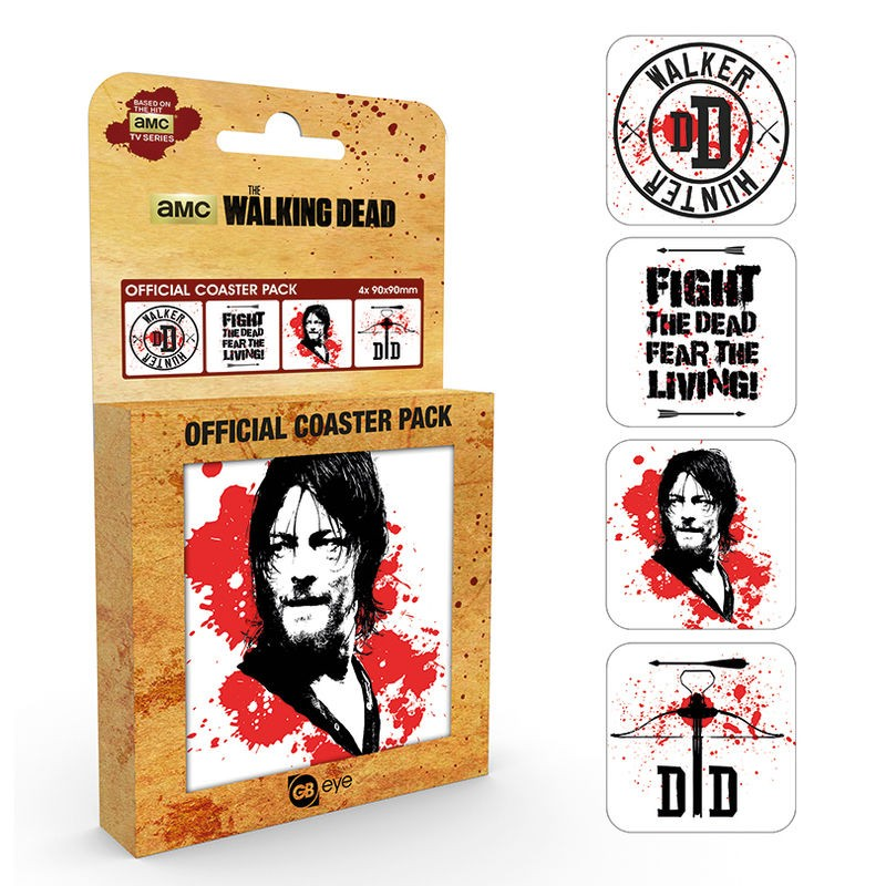 Pack posavasos Daryl The...