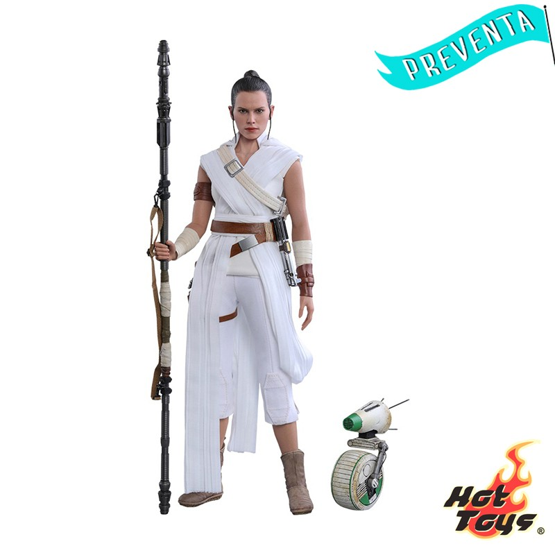 Figura Hot Toys Rey and D-O...