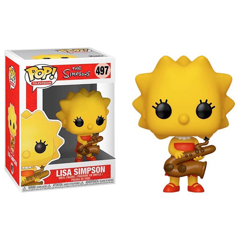 Figura POP Simpsons Lisa