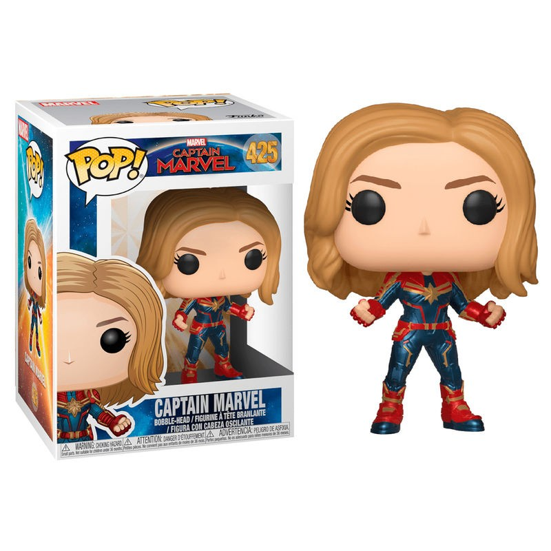 Figura POP Marvel Capitana...
