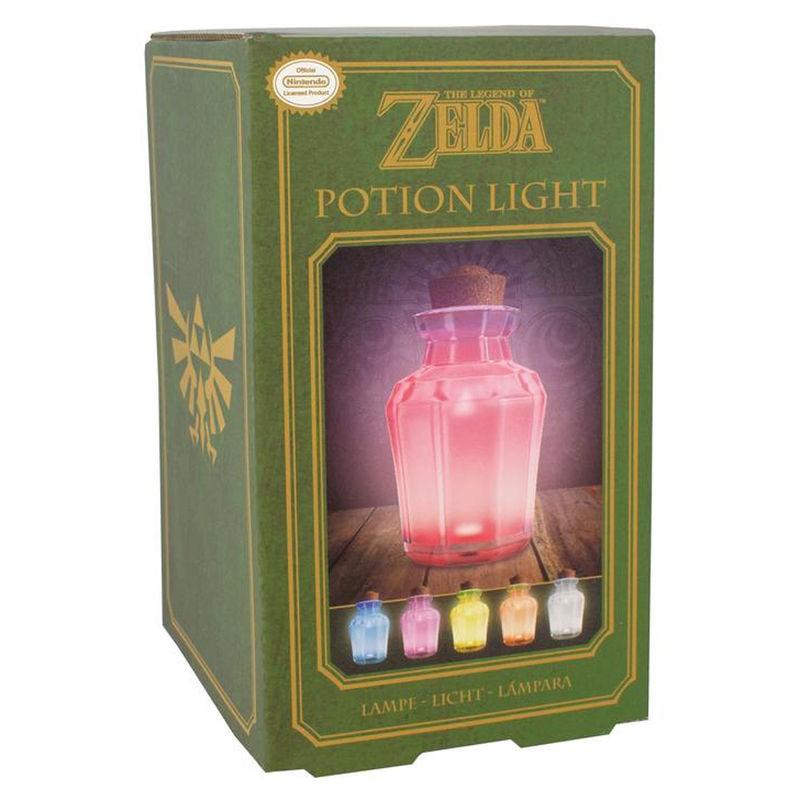Lámpara Zelda poción...