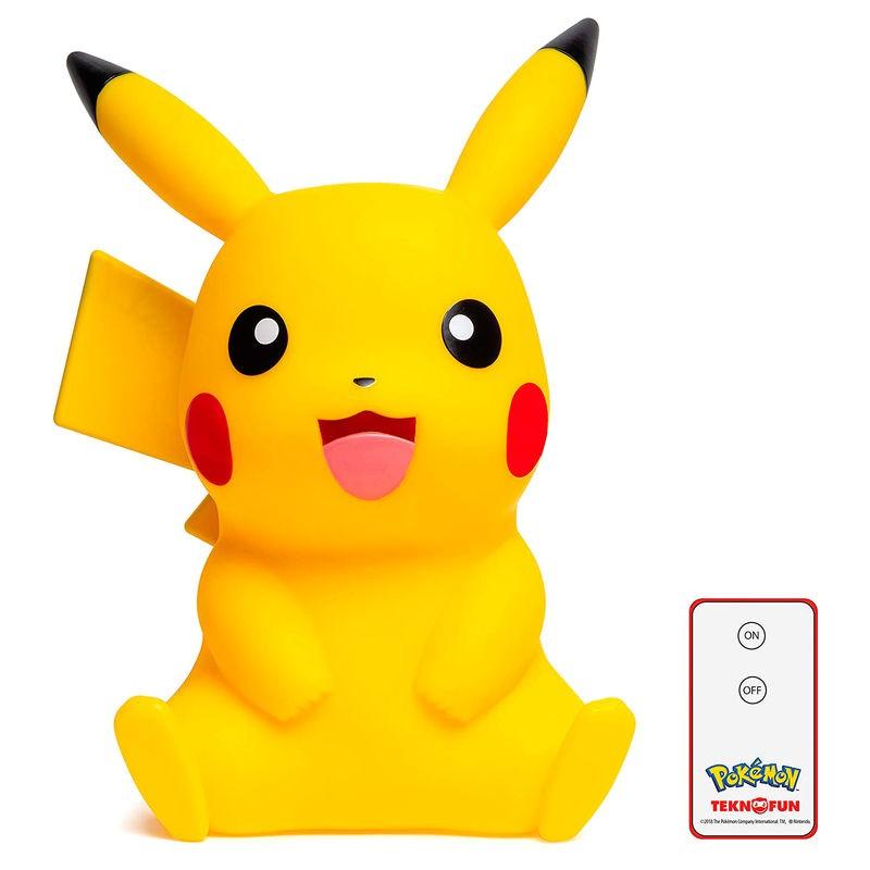 Lámpara Led 3D Pikachu Pokemon