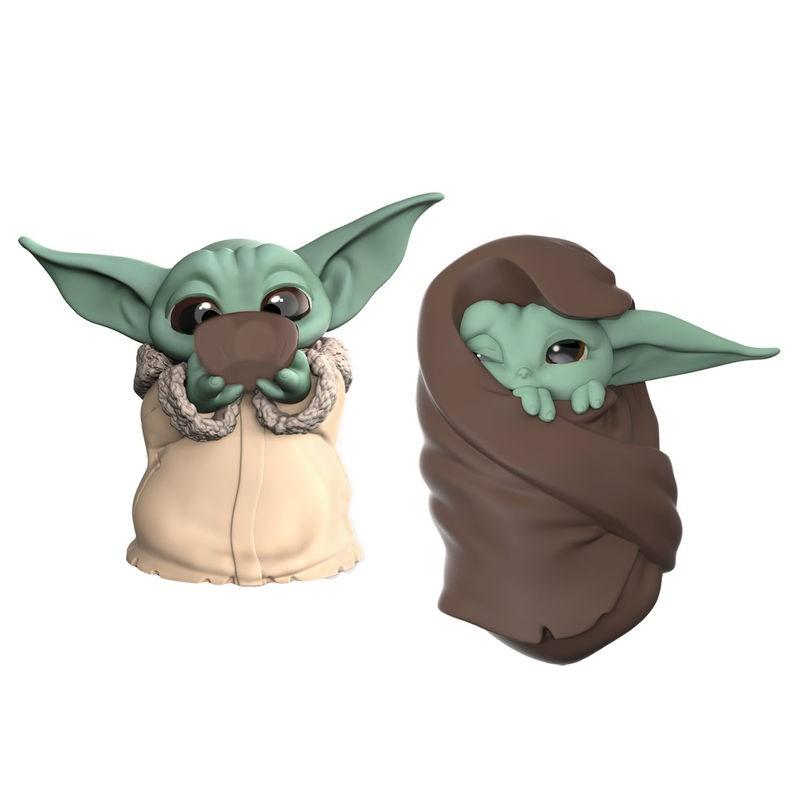 Pack 2 figuras Yoda The...