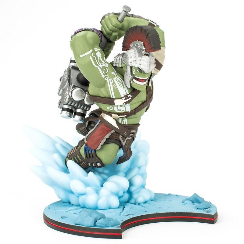 Figura diorama Hulk con...