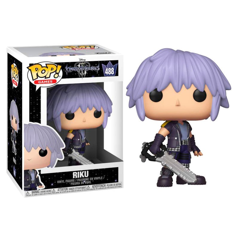 Figura Pop Kingdom Hearts...