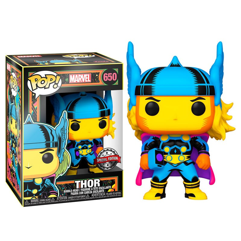 Figura POP Marvel Black...