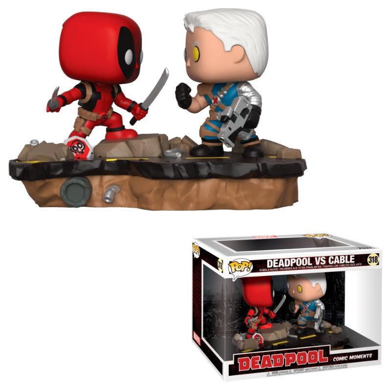 Figura POP Marvel Deadpool...