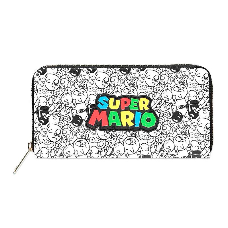 Cartera Logo Super Mario...