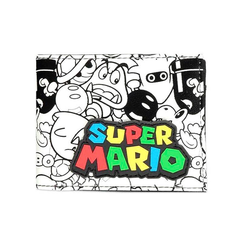 Cartera Super Mario Nintendo