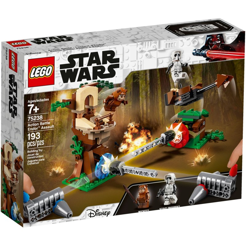 Lego Star Wars Asalto A Endor