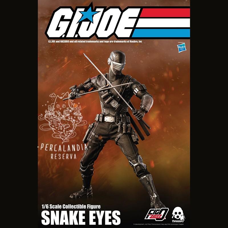 G.I. Joe Figura 1/6 Snake...