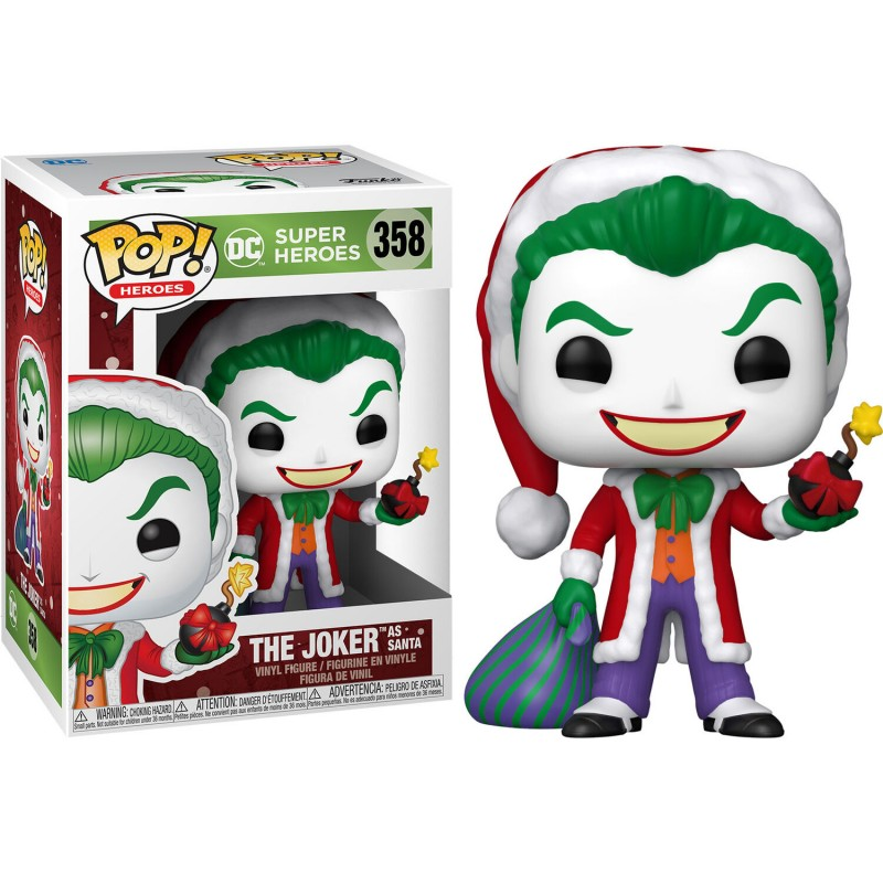 Figura POP DC Holiday Santa...