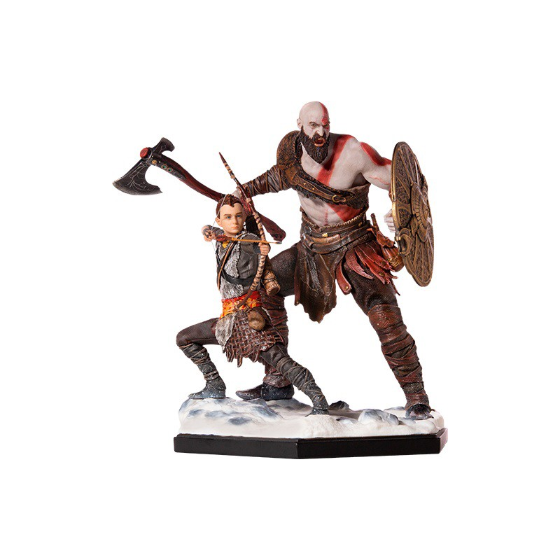Figura God of War Kratos y...