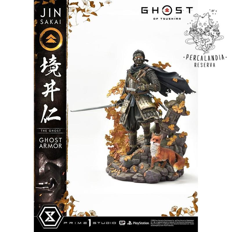 Estatua Ghost of Tsushima...