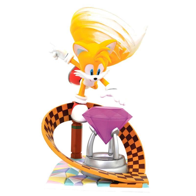Figura diorama Tails Sonic...