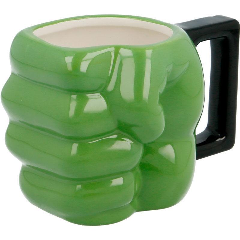 Taza 3D Puño Hulk Marvel