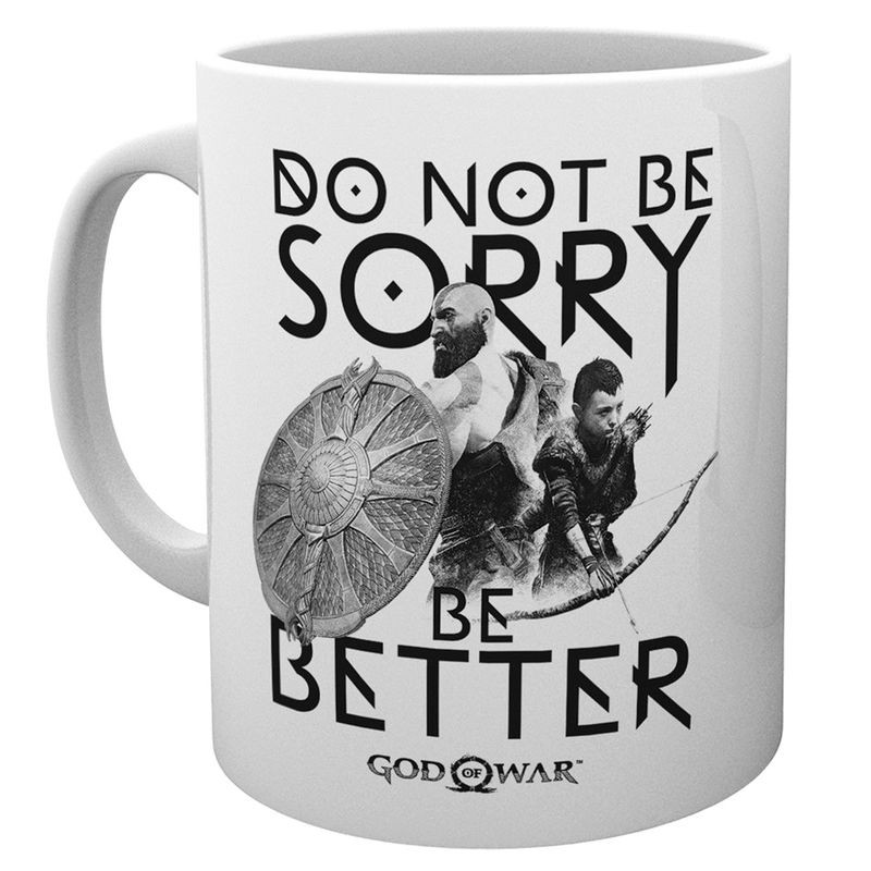 Taza Sorry God Of War