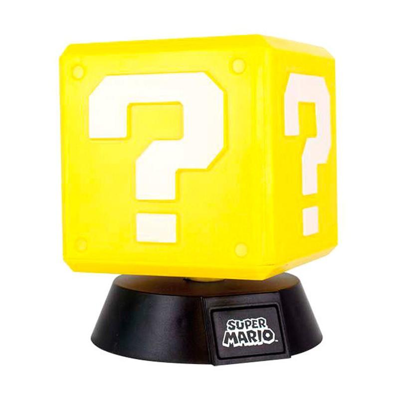 Lámpara 3D Question Block...