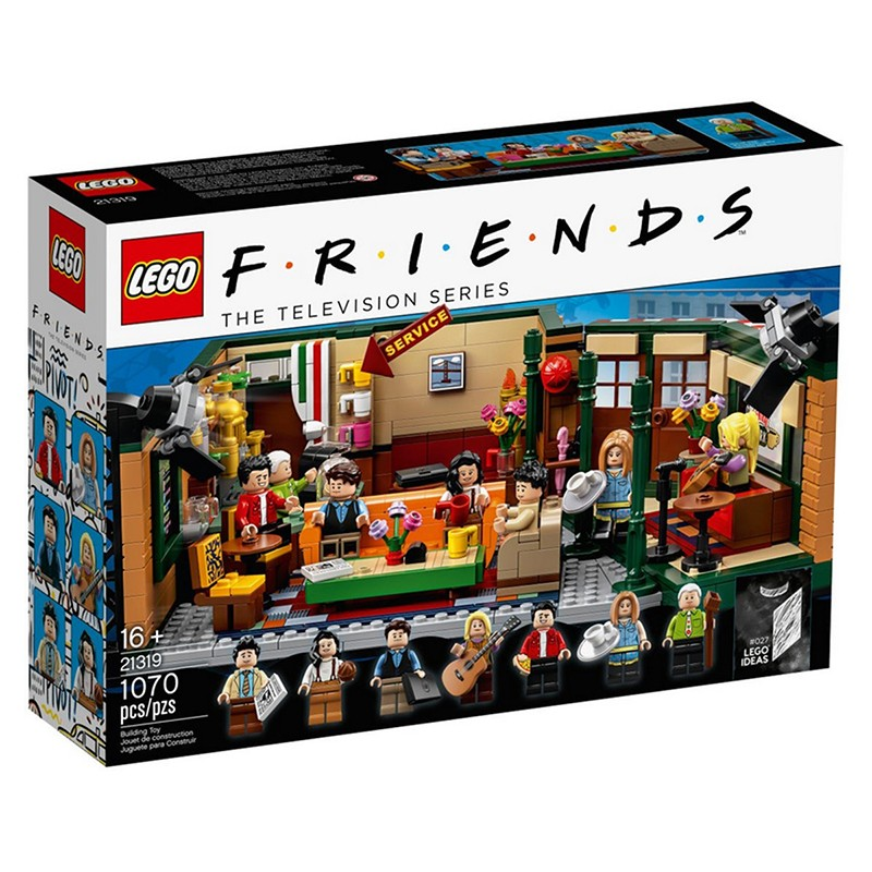 Lego Friends Central Perk
