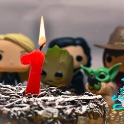 🎈🎈Estamos de cumple!!!!! 🎈🎂  Hoy hace 1 año que Percalandia abrió sus puertas virtuales, gracias a tod@s los que habeis confiado en nosotros en este viaje mágico.  Por muchos años más!!!!